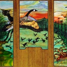 Goose door