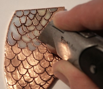 stained glass copper foil machine