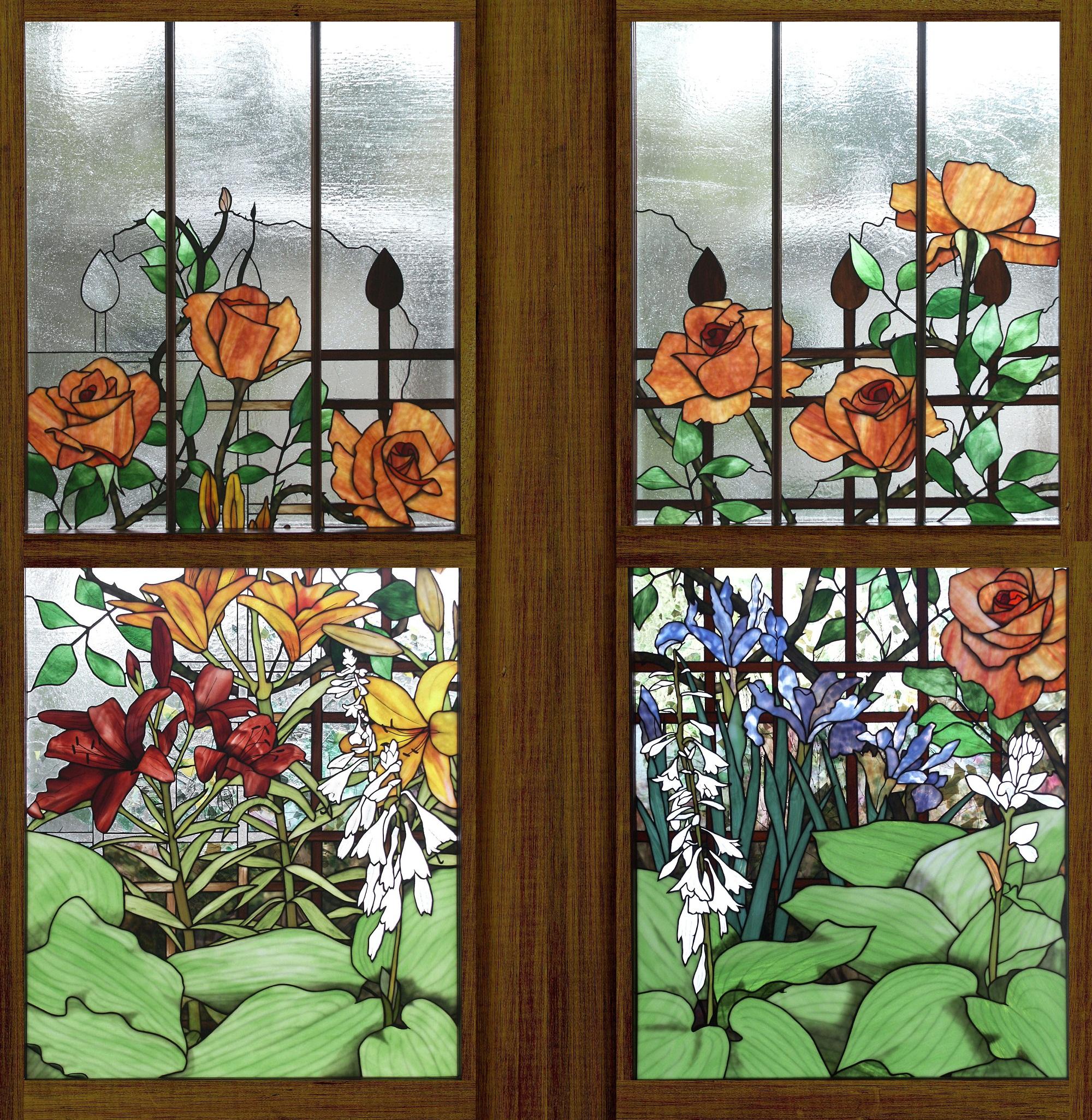 Floral Design No 4 Robert Oddy
